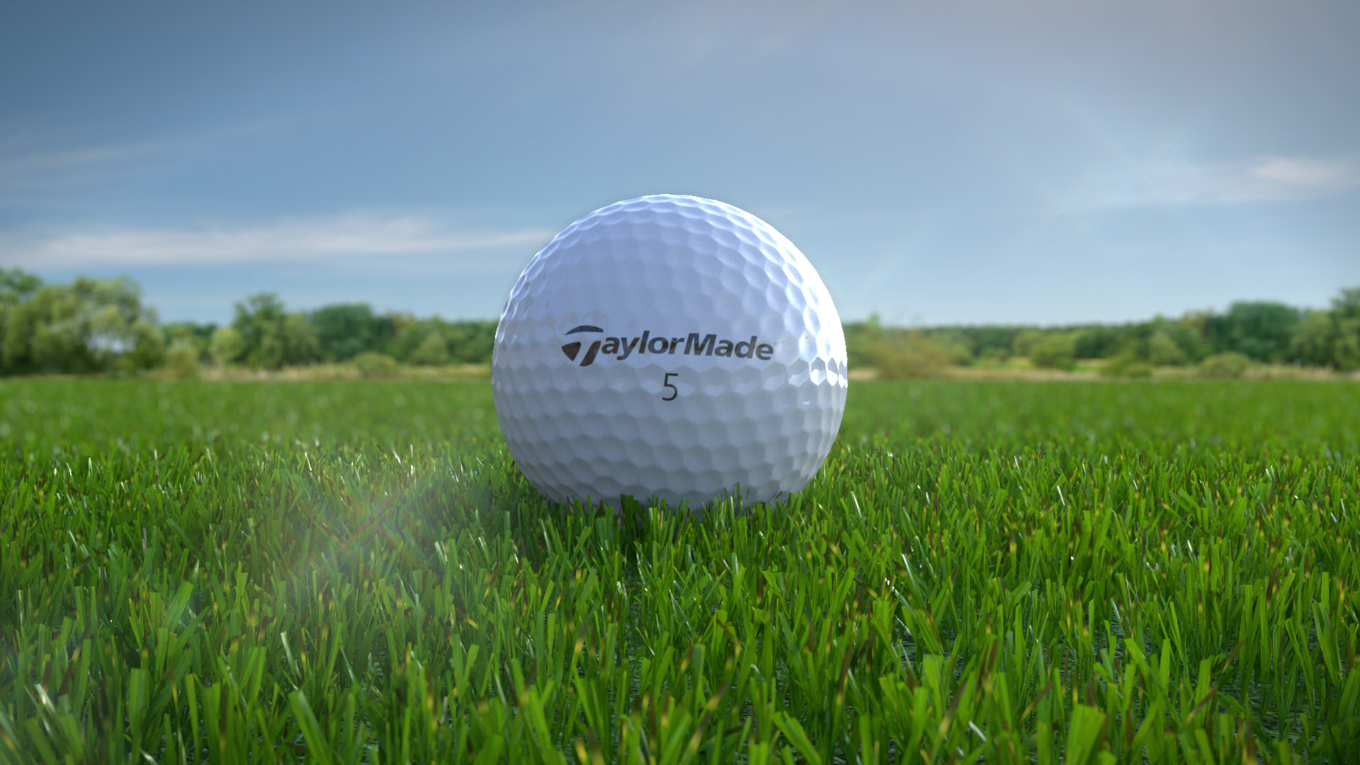 "Taylor Made ""TP5"" Golf ball Tech"